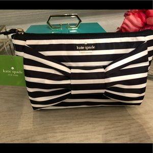 Kate Spade Haring lane Shilah clutch makeup bag
